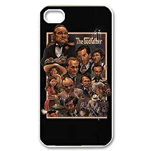 TOSOUL Custom painting The Godfather Phone Case For Iphone 4/4s [Pattern-2]