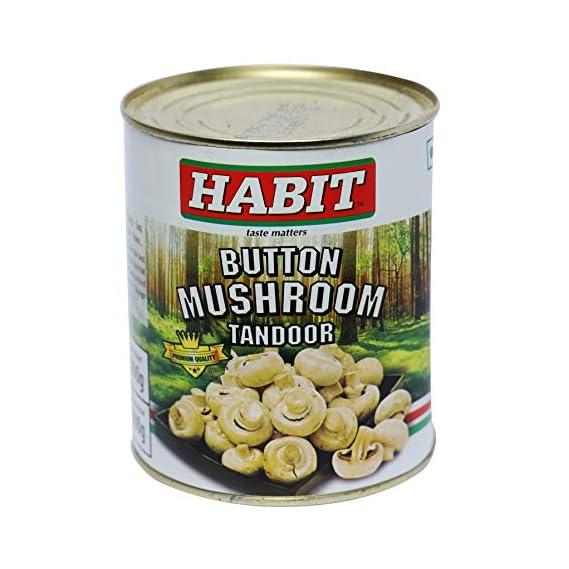 Habit Button Mushroom Tandoor - 800 Grams
