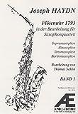 Mechanical Clock V.1 for Saxophone Quartet by Joseph Haydn