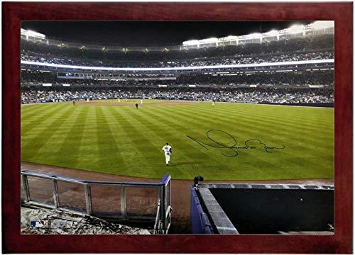 Mariano Rivera Autograph Replica Super Print - Bullpen Run - Landscape - Framed ()