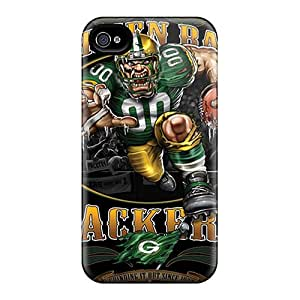 Perfect Hard Phone Covers For Iphone 6 With Custom Lifelike Green Bay Packers Pictures JoanneOickle
