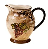 Certified International Tuscan View Pitcher, 2.75-Quart