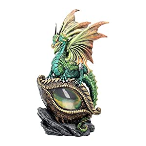 Eye Of The Dragon Green Figurine