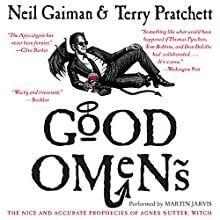 Good Omens Audiobook by Neil Gaiman, Terry Pratchett Narrated by Martin Jarvis