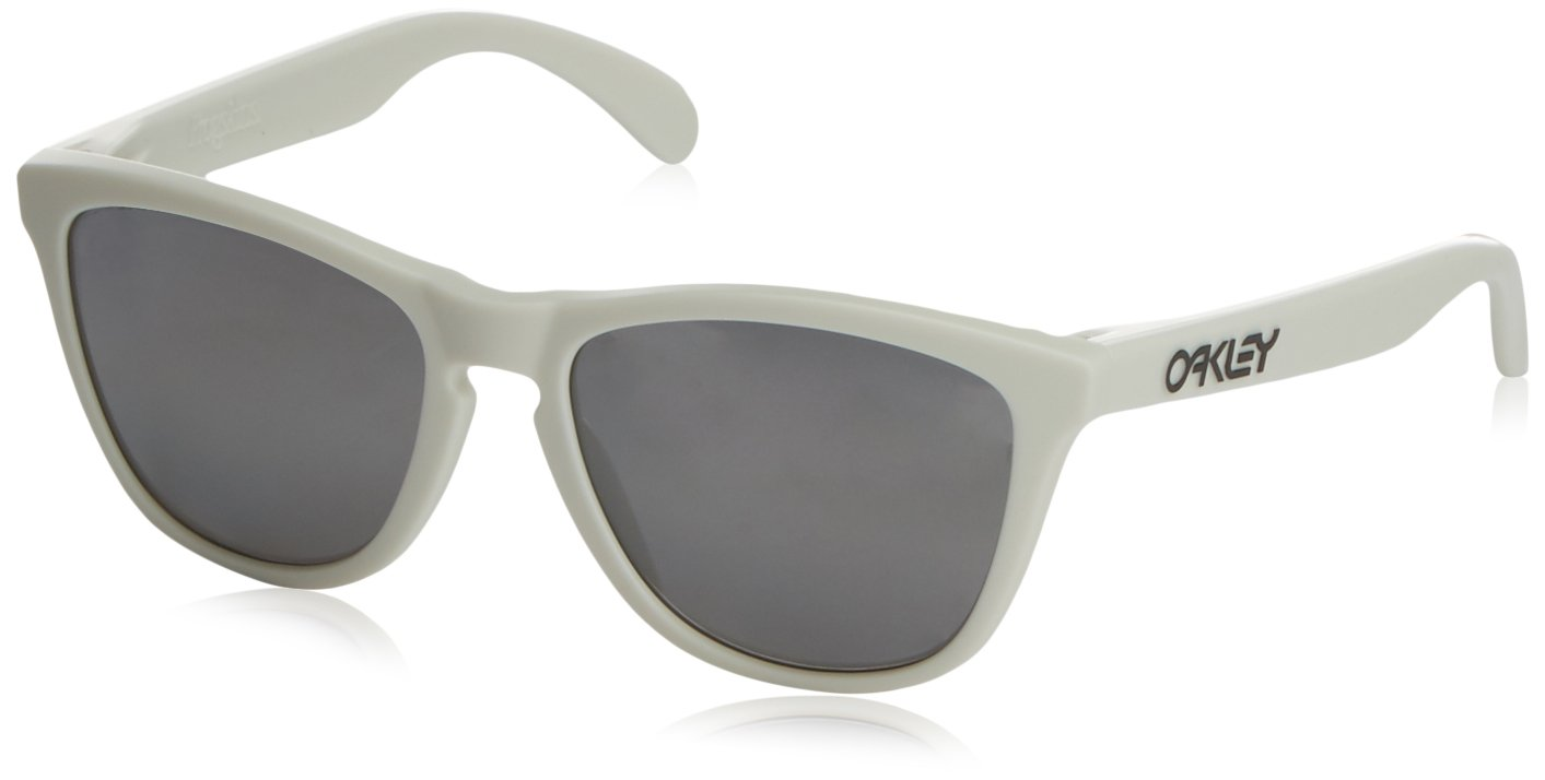 Oakley oOO9013-13 Heaven and Earth White Frogskins Wayfarer Sunglasses Polarise by Oakley