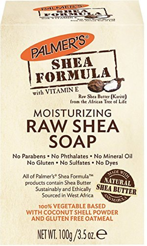 Palmer's Shea Formula Moisturizing Raw Shea Soap 3.50 oz (Packs of 2)