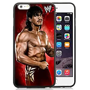 Unique Design iPhone 6plus Cover Case Wwe Superstars Collection Wwe 2k15 Eddie Guerrero in Black iPhone 6plus 5.5 Inch Protective Phone Case