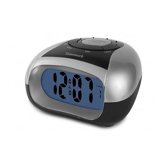 Reloj Despertador Digital Parlante Español - Temperatura - Discapacidad Visual -: Amazon.es: Relojes