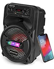 Fenton FPC8 50 Watt Mobiele Speaker op Accu met Bluetooth, USB, MP3, LED en Microfoon