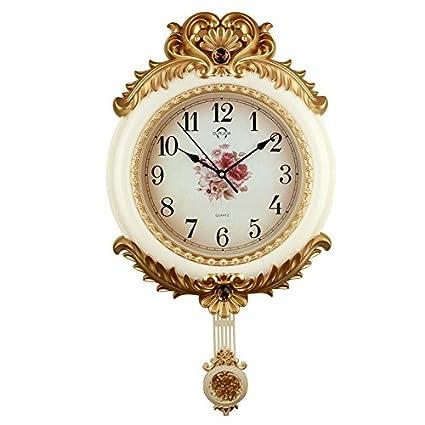vanme haut de gamme Fashion Clock Mute créatifs européenne ...