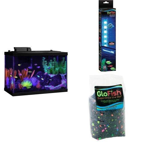 20 gallon Glofish aquarium