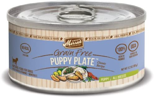 Merrick Classic Grain Free Puppy Plate Wet Dog Food