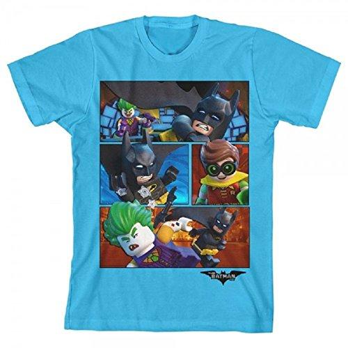 Lego Batman Group Turquoise Boys Youth T-shirt