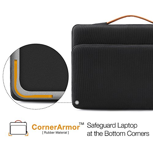 """tomtoc 360° Protective Sleeve for 2018 MacBook Retina Display A1932 13 Inch New Pro USB-C A1708 12.3"""" Pro 6/5/4, Accessory Bag"""