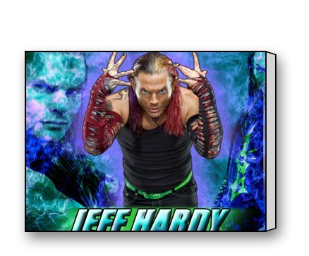 Funnyone Custom Modern Wall Art Decoration for Home Jeff Hardy Canvas Prints - Prince Hand Painted Wall Hanging