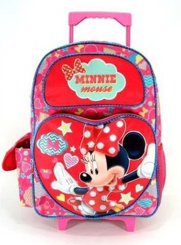 Disney Full Size Red and Pink Daydream Minnie Mouse Rolli...