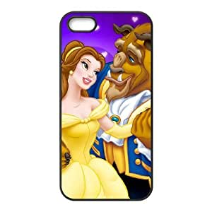 Beauty and the Beast The Enchanted Christmas iPhone 5 5s Cell Phone Case Black fxl