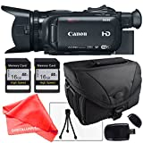 Canon XA35 Professional Camcorder 1003C002, 2X 16Gb SD Cards, SD Card Reader + Camera Bag, LCD Screen Protector and more