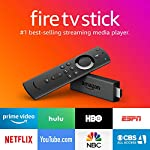Fire TV Stick streaming media player with Alexa built in, includes Alexa Voice Remote, HD, easy set-up, released 2019 6