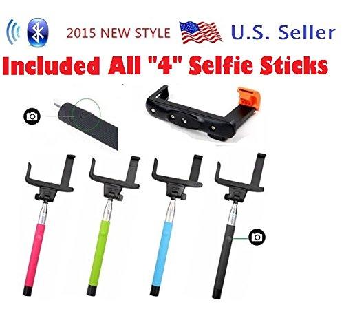 usa selfie stick usbuyforless u s a pro 2 in 1 self portrait monopod exten. Black Bedroom Furniture Sets. Home Design Ideas