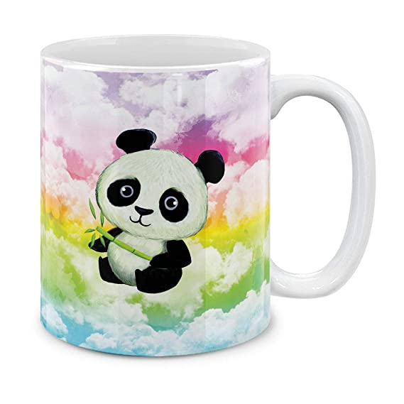 Coffee Oz Cup11 Gift Tea Baby Mugbrew 2Ceramic Pandastyle Mug K1lJcTF