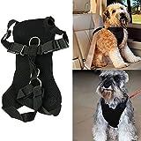 Bonawen Dog Vehicle Harness Safety Car Seatbelt Pet Car Safety Harness Nylon