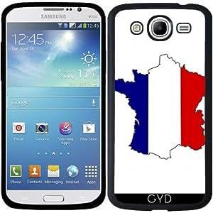 Funda para Samsung Galaxy Mega 5.8 (i9150) - Francia Mapa De La Bandera by Cadellin