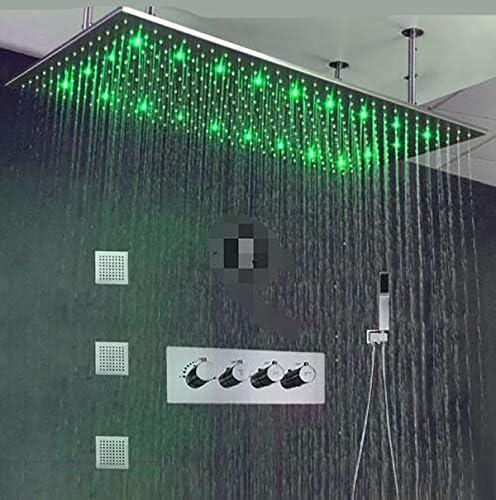 Regen Duschkopf 1 St/ücke 15 8 Cm Runde Dach Regendusche Kopf Trey Massage Dampf Regen Duschkabine Raumspr/üher Bad 1//2 Stecker