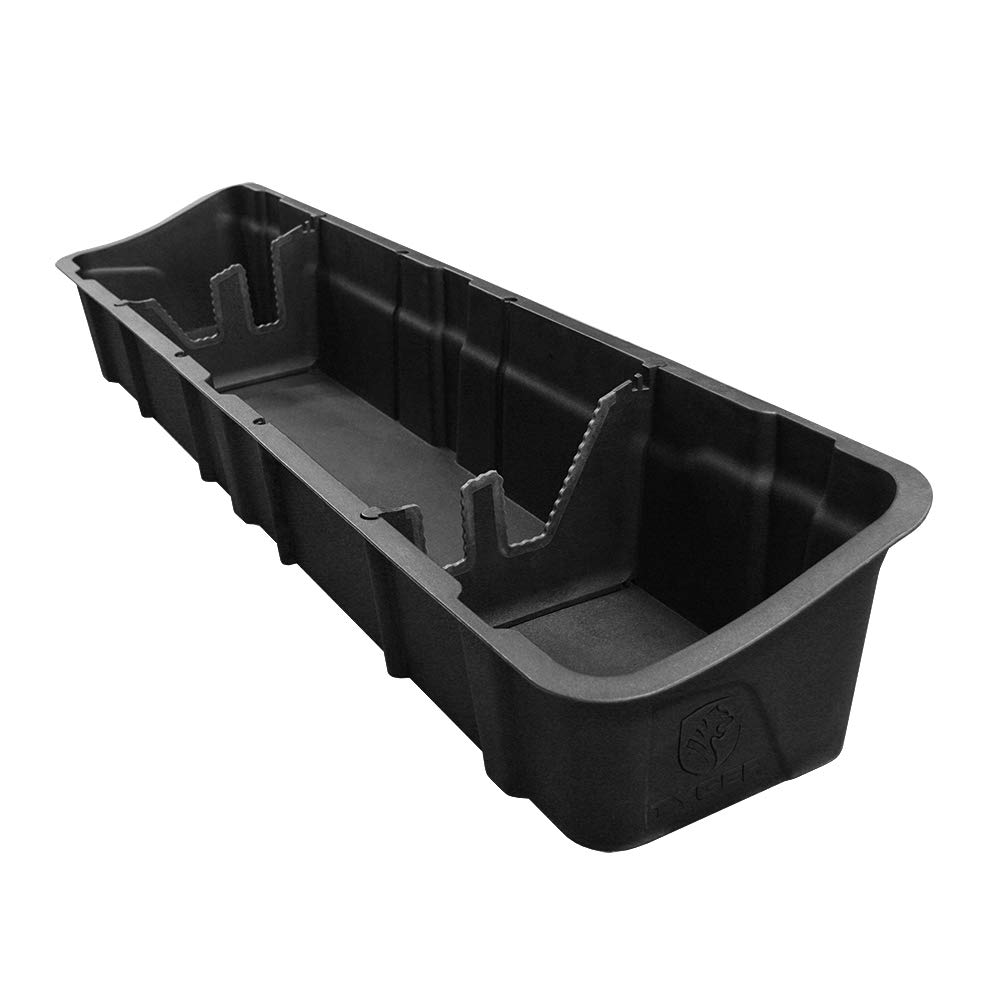 Tyger Auto Underseat Storage Box TG-CB5F2228 for 2015-2019 Ford F150 Crew Cab | Black Textured Rear Underseat Organizer Cargo Box by Tyger Auto