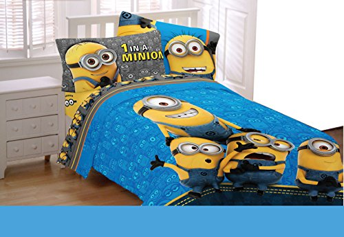 Despicable Me Full Size Sheet Set ( Minions) by Despicable Me Minion Made