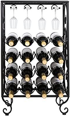 Amazon.com: smartxchoices 23 – 54 botellas de hierro forjado ...