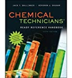 img - for [(Chemical Technicians' Ready Reference Handbook)] [Author: Jack T. Ballinger] published on (August, 2011) book / textbook / text book
