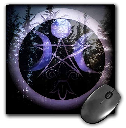 3dRose WhiteOaks Photography and Artwork - Halloween - Samhain Design is My yearly Creation Designed for a Pagan Holiday - Mousepad (mp_245653_1) -