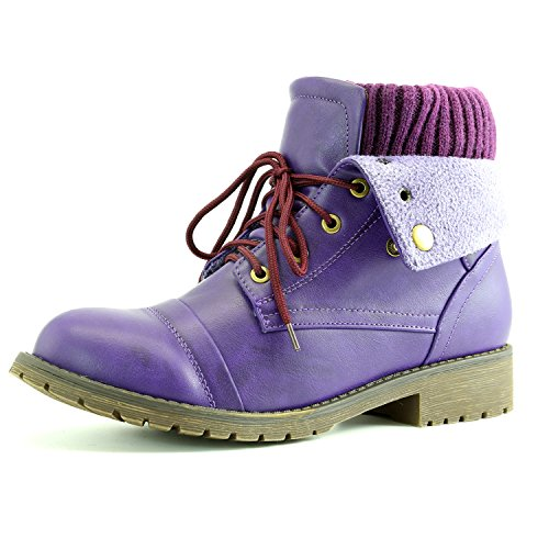 Womens DailyShoes Combat Sweater Bootie product image