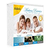 Waterproof Mattress Protector - Adoric Waterproof Mattress Protector King Size with Premium Cotton Terry Surface, - Hypoallergenic, Breathable, Dust Mite Proof, Bed Bug Proof, Vinyl-free (White)