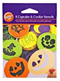 Wilton Halloween Mini Stencil Set, 8 Piece