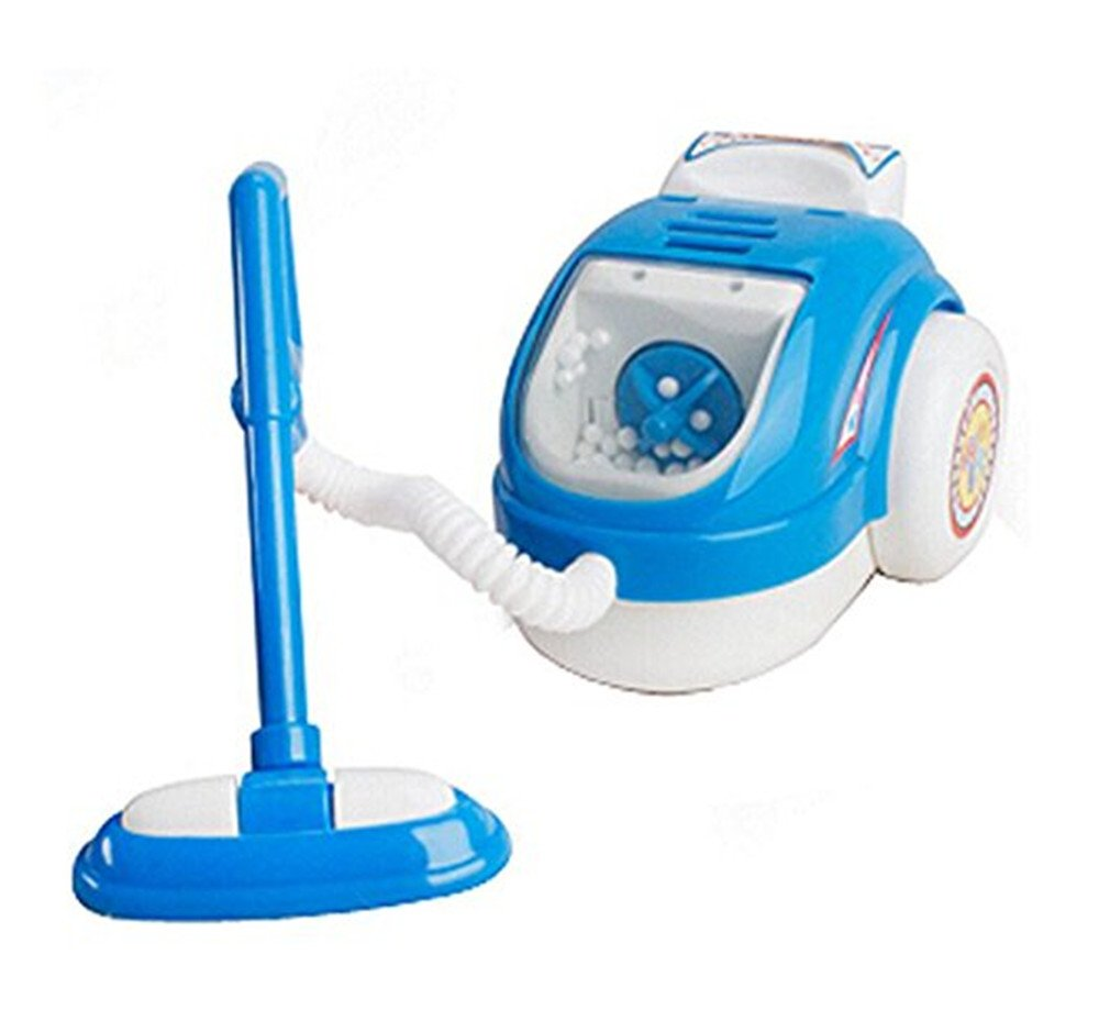 Kangkang@ MINI Home Appliance Model Toys Kids Electronic Toys Play Toys(Vacuum Cleaner)