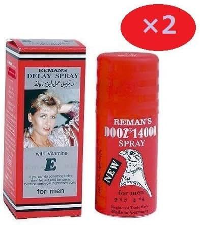 Dooz 14000 Mens Delay Spray with vitamin E 2 BOTTLES Delay Spray