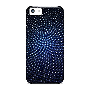 Slim Fit Protector Shock Absorbent Bumper Blue Sphere Cases For Iphone 5c