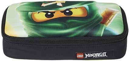 Lego – Ninjago escolar funda/estuche/3 D Pencil Case – Lloyd Garmadon: Amazon.es: Oficina y papelería