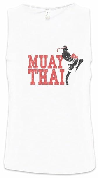 Muay Thai Fighter Hombre Camiseta Sin Mangas Men Tank Top Tamaños S – 5XL