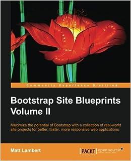 Bootstrap Site Blueprints Volume II by Matt Lambert (2016-01-06)