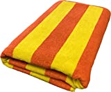Best Rainbow Towel For Bath Beaches - Oversized Cotton Beach Towel - Cabana Stripe Soft Review