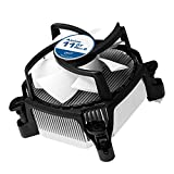 ARCTIC Alpine 11 GT Rev 2. - Super Silent Intel and AMD CPU Cooler for Mini PCs - Up to 75 Watts Cooling Capacity with 80 mm PWM fan