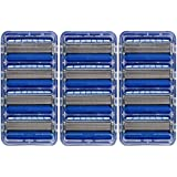 Schick Hydro 5 Razor Blade Refills for Men with Flip Trimmer, 12 Count