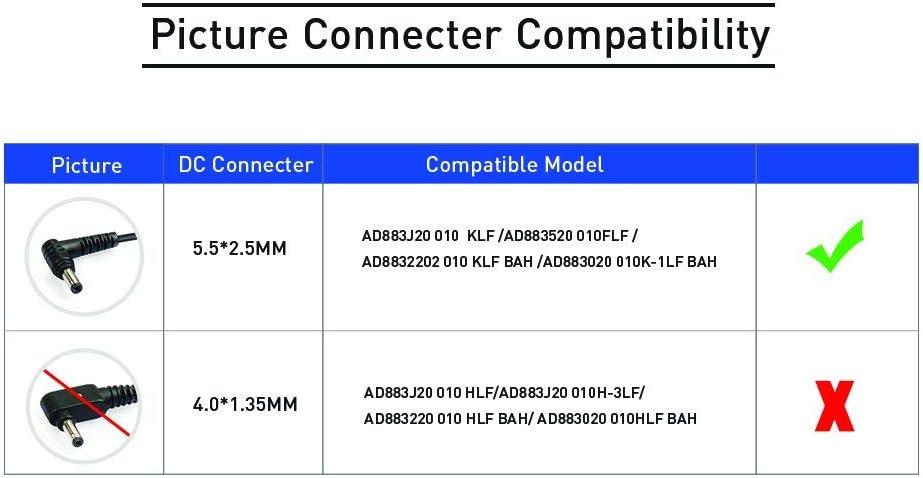 KFD 65W Adaptador Cargador Portátil para ASUS F550C X550C MSI PS63 Modern 8RC PS42 Medion ADP-65JH BB ADP-65KB B SADP-65NB BB X552L X552 X552E F554LA F555L F551C F551M R503U R510C R510CA 19V