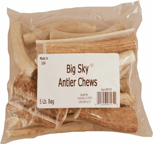 Big Sky Antler Chews Mixed 5lb by Big Sky