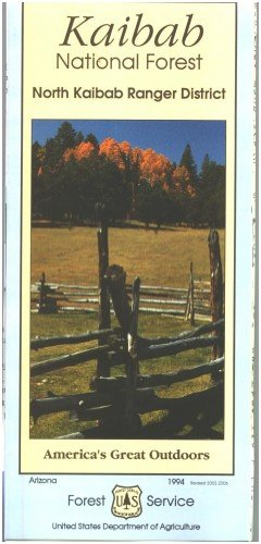 Kaibab National Forest Map (North Kaibab Ranger District) Waterproof