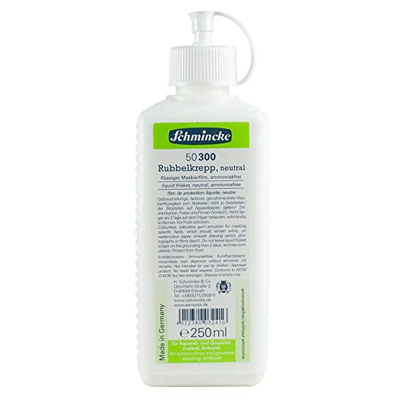Schmincke Rubbelkrepp NEUTRAL, 250ml Flasche