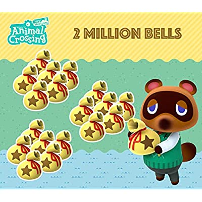 Animal Crossing New Horizons 2 Million Bells: Toys & Games